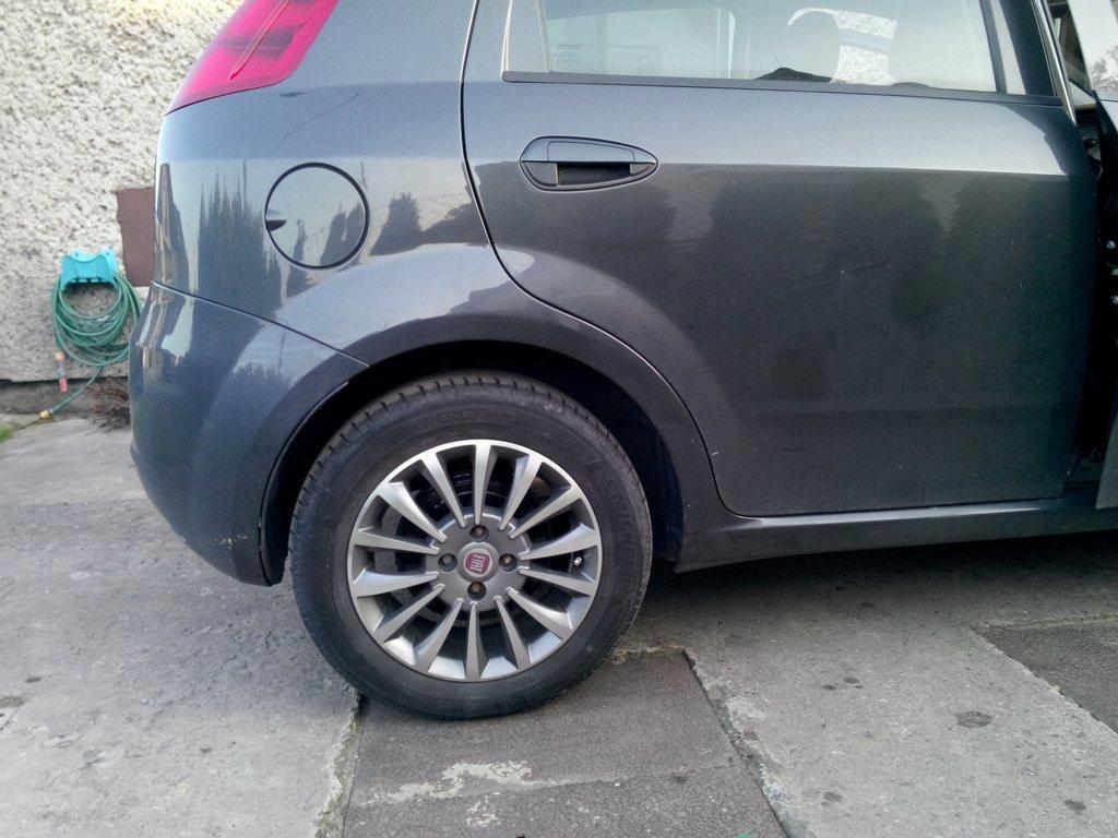 ALLOYS 15'' FIAT 500 PUNTO UNO BRAVO BRAVA DOBLO