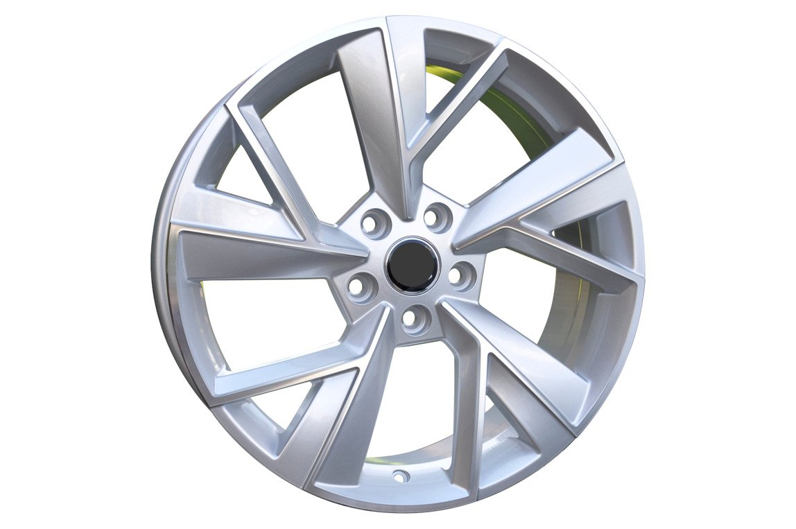 RACING LINE RFE211 hliníkové disky 7x18 5x112 ET43 MS - Polished Silver