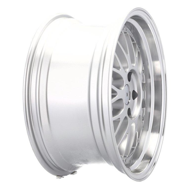 RACING LINE RA1025 hliníkové disky 9x18 5x112 ET35 MS - Polished Silver