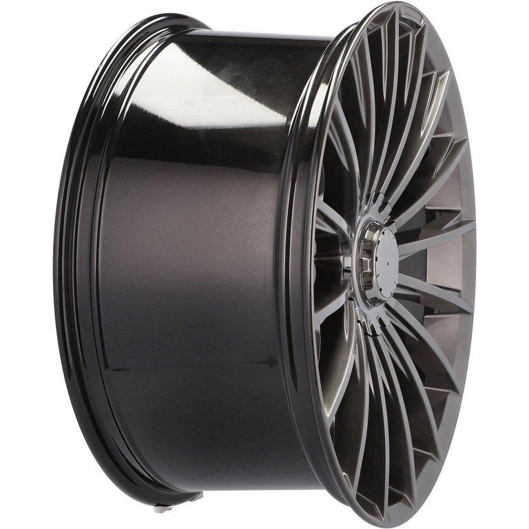 RACING LINE RBYD1499 hliníkové disky 9,5x20 5x112 ET35 HB - Dark Shining