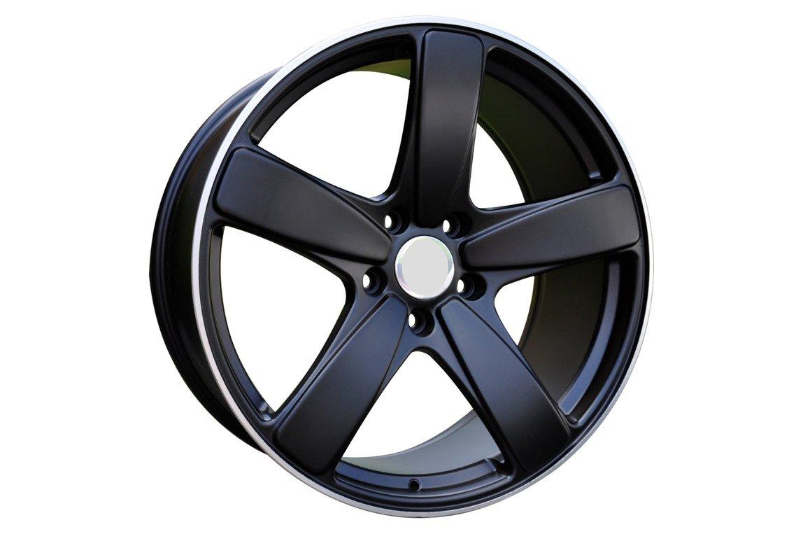 RACING LINE FE023 hliníkové disky 9x21 5x112 ET26 BLP - Black + polished