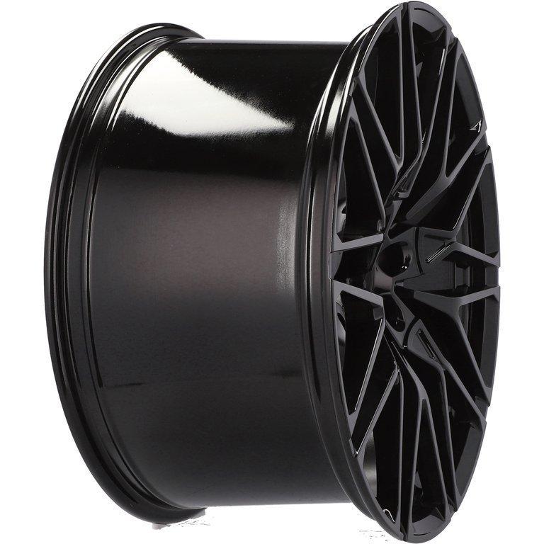 RACING LINE RBK5771 hliníkové disky 11x22 5x120 ET37 BL - BLACK