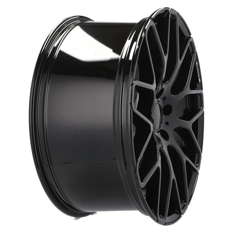 RACING LINE RAT967 hliníkové disky 10x22 5x130 ET46 BL - BLACK