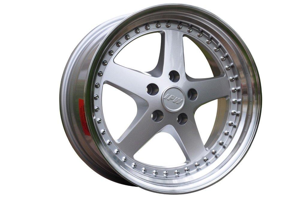 RACING LINE RBY1161 hliníkové disky 8,5x18 5x120 ET30 SILP - Silver + polished lip